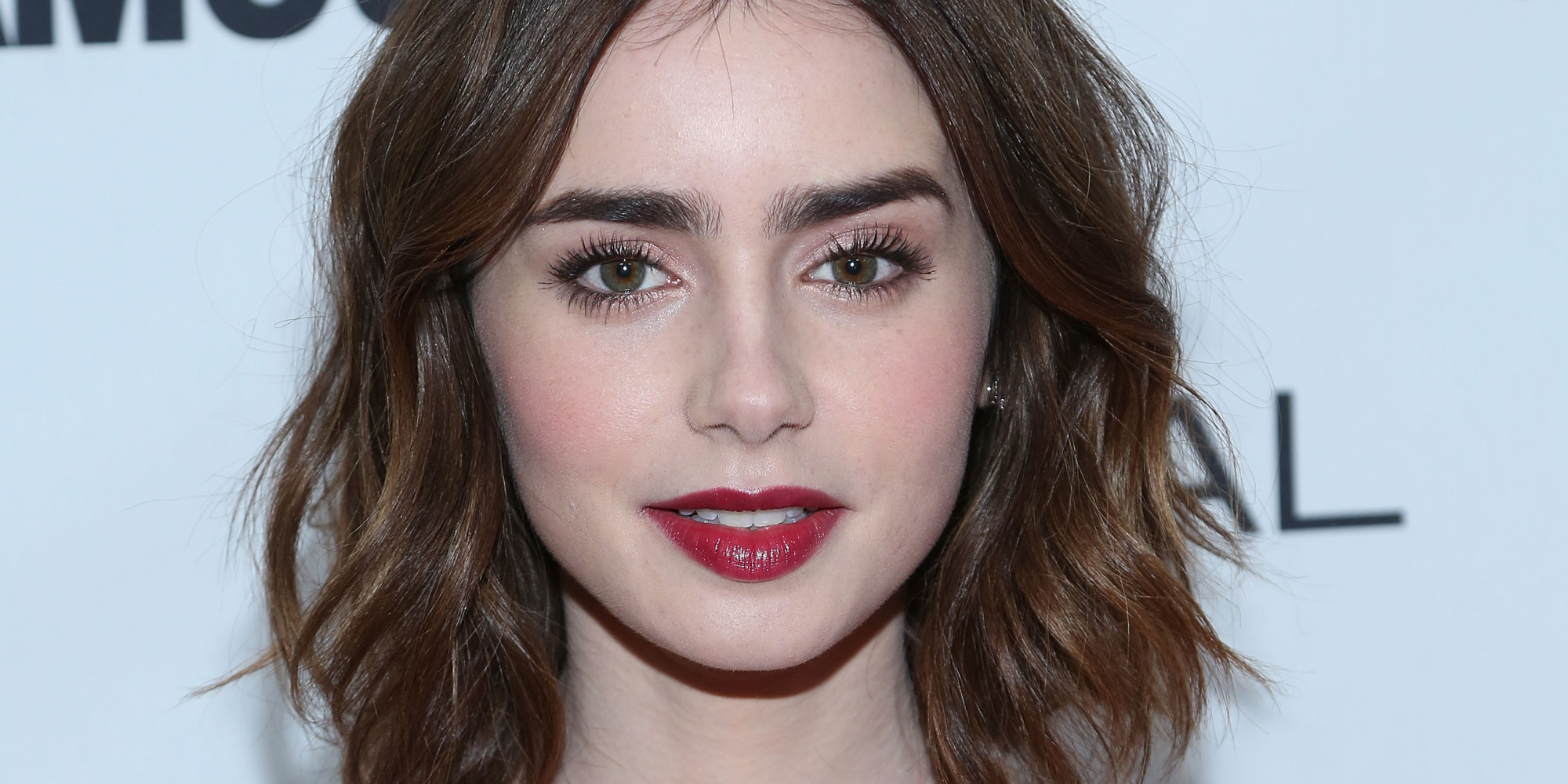 NEW YORK, NY - NOVEMBER 11: Actress Lily Collins attends the Glamour Magazine 23rd annual Women Of The Year gala on November 11, 2013 in New York, United States. (Photo by Taylor Hill/FilmMagic)