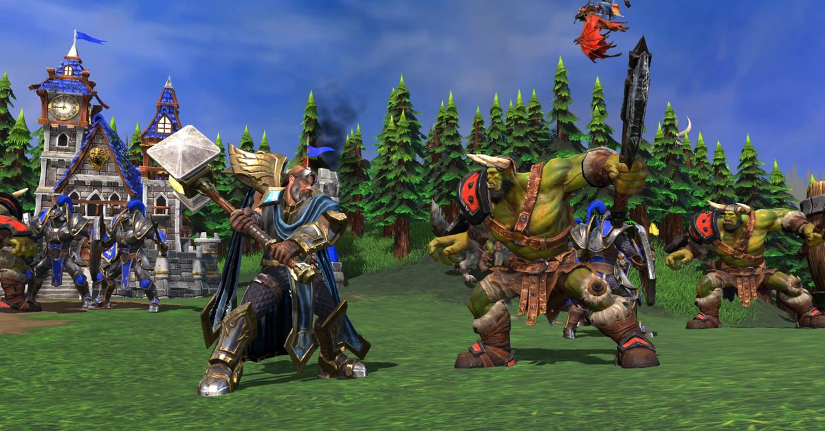 Warcraft_III_Reforged_Human_vs_Orc